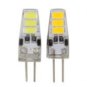 12V G4 Mini LED Corn Bulb 6LEDs 5730 With Silicon Body 30pcs