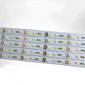 SMD 5630 Rigid Strip Hard Light for LED Profile Channel Bar DC 12V 1M 100pcs
