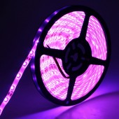 3528 300LEDs 5M Pink Color LED Flexible Strip Light 12V Light