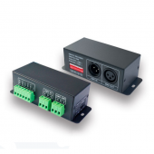 3CH CV DMX-PWM Decoder LT-8030 DC 5V 24V 12A Ltech LED Controller