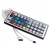 44 Keys LED IR RGB Controller 12-24V Dimmer For 5050 Strip Lights 2pcs