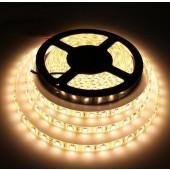 5050 5M 300LEDs Waterproof Warm White LED Strip Light 12V