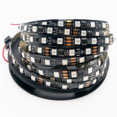 60LEDs/M DC 12V WS2811 Addressable RGB Strip 5M 300LED 16.4Ft Light