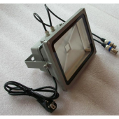 60W RGB DMX Flood Light Can Be Controlled By DMX Controller Directly