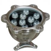 9W LED Underwater Pool Light W/R/G/B/RGB Optional Lamp