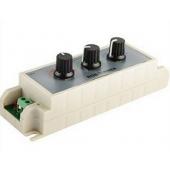 DC12V-24V Knob RGB LED Dimmer Controller 3 Channel For Strip Lights