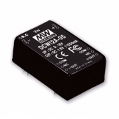 DCW12 Series 12W Mean Well Regulated Converter Power Supply