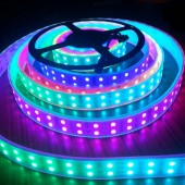 Double Row TM1812 5M 600LEDs 5050 RGB LED Strip 120leds/M 12V