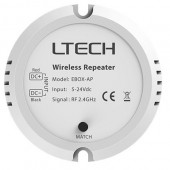 LTECH LED RF 2.4G EBOX-AP Wireless Repeater 5-24V