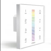 EX7 RGB European-style Touch Panel LTECH LED Controller 2.4G+DMX512