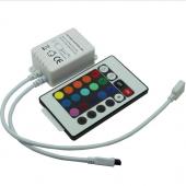 IR240 24 Key Infrared DC 12-24V 3 Channels Leynew LED Controller 4pcs