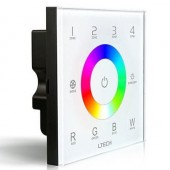 LTECH DX8 DMX512 4 Zones Glass Touch Panel Controller Led RF Wireless