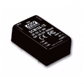 SCW12 Series 12W Mean Well Regulated Converter Power Supply