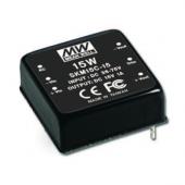 SKM15 Series 15W Mean Well Regulated Converter Power Supply