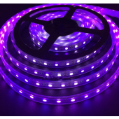 SMD5050 Ultraviolet 380-385nm UV LED Strip Light 60LEDs/M 5M 12V