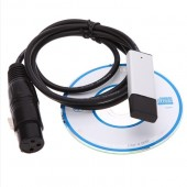 USB To Interface Adapter LED DMX512 Studio PC Stage Lighting Dimmer
