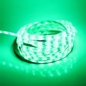Waterproof 5M 16.4Ft Green 3528 LED Strip Light 300LEDs 12V