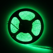 Waterproof 3528 Green Flexible Strip Light 5M 600LEDs 12V LED