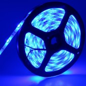 12V 5050 5M 150LEDs Blue Waterproof Flexible LED Strip Light