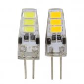 12V G4 Mini LED Corn Bulb 6LEDs 5730 With Silicon Body 30pcs