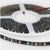 5M 12V UV LED Strip Blacklight Night Fishing 3528 Black PCB