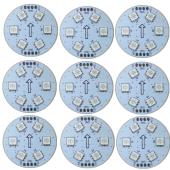 12V WS2811 LED Digital Circuit Board SMD5050 RGB 6LEDs 9pcs