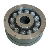 12W High Power Submersible LED Fountain Light Ring W/R/G/B/RGB
