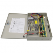 18CH Port 12V 10A Power Supply Box For CCTV Cameras Security System