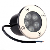 5W Inground Light Waterproof Garden Buried Yard Landscape LED Recessed Lamp