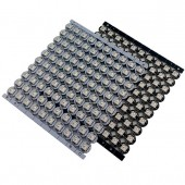 5V WS2812 IC Built-in Chips RGB Neo Pixel with Heatsink 100pcs
