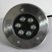 6W LED Inground Light Underground Garden Buried Yard Landscape Lamp