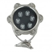 6W Submersible LED Swimming Pool Light W/R/G/B/RGB Optional Lamp