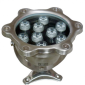 9W LED Underwater Pool Light W/R/G/B/RGB Optional Lamp