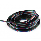 10m Extension Cable Connector 5pin Stand For LED Strip Ribbon Lighting