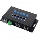 BC-204 5V-24V Artnet to SPI DMX Pixel Light Bincolor Eternet Protocol Led Controller