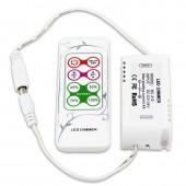 Bincolor BC-312-4A 12V-24V RF Remote Dimmer Led Controller