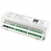 BC-624-DIN Bincolor DMX512 24CH Decoder Driver Control Led Controller