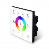 Bincolor P8 RGBW Dimmer Wall-mounted DMX512 Console Master Touch Panel Led Controller