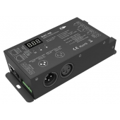 D4C-XE-700mA Led Controller Skydance Lighting Control System 4CH Constant Current DMX512 & RDM Decoder
