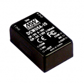 DCW05 Series 5W Mean Well Regulated Converter Power Supply