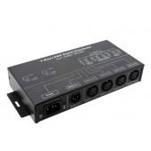 DMX124 DMX Signal Distributor AC 100~240V 4W Leynew LED Controller