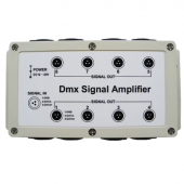 DMX Signal Amplifier Optional 8 Channel
