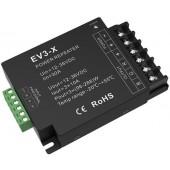 EV3-X Led Controller Skydance Lighting Control System Power Repeater CV 3CH 12-24V