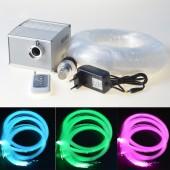 5W CREE LED Light Source 300 Plastic Optical Fiber Optic Light 3.6m