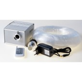 5W Cree LED light engine + 300pcs 3.6m PMMA Fiber + Crystal End Fit Fibre Optic Lighting