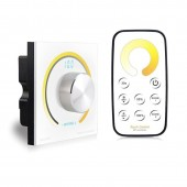 Bincolor BC-K2-T2 Single Color/CCT/RGB Rotary Dimmer Switch Knob Wall Led Controller