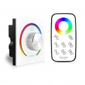 BC-K3-T3 Switch Knob Wall RGB Rotary Dimmer Bincolor Led Controller