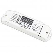 Bincolor BC-833 3CH 12V-24V PWM CV DMX512/1990 Decoder Led Controller