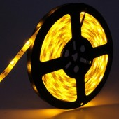 LED Strip Light 5M 5050 150LEDs Yellow Waterproof Flexible 12V