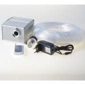 188pcs 3m Sofe End Emit Fibre Optic Cable with 12w Cree Led Shimming Light Engine